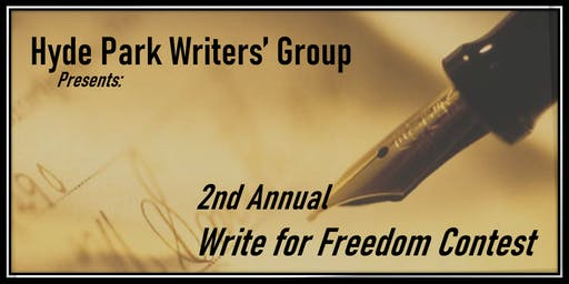 Write For Freedom 2nd Annual Contest