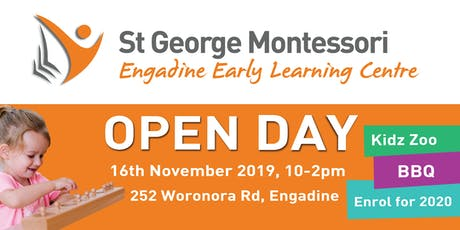 St George Montessori Engadine Open Day tickets