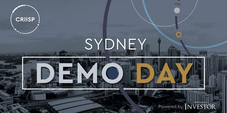 CRIISP Demo Day, powered by Wholesale Investor - Sydney tickets