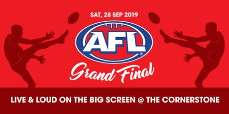 AFL Grand Final @ The Cornerstone tickets
