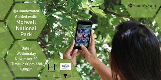 ClimateWatch Guided Walk: Morwell National Park