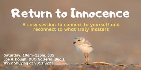 Return to Innocence tickets