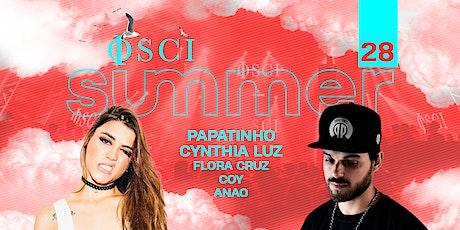 OSCI Sunsets w Papatinho, Cynthia Luz ingressos