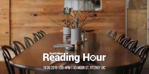 2019 Australian Reading Hour