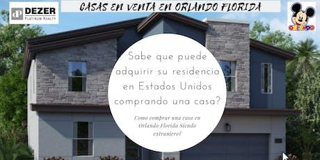 Mexico! Cómo comprar casas vacacionales en Orlando siendo extranjero? entradas
