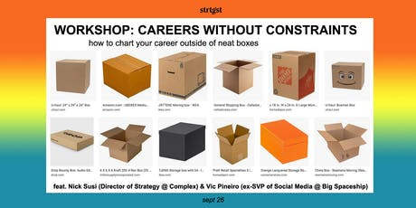 WORKSHOP: Careers Without Constraints tickets
