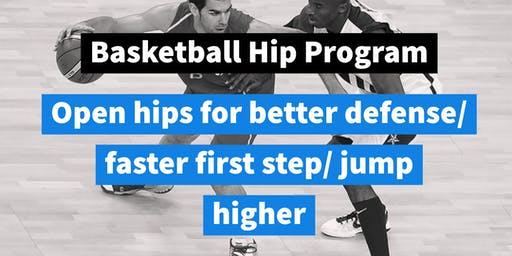 Basketball Hip Program (Extension, Flexion & Rotation)