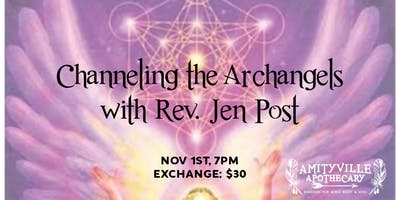 Channeling the Archangels with Rev. Jen Post