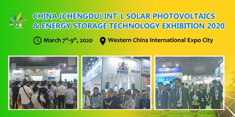 China(Chengdu) International Solar Photovoltaic Exhibition 2020 tickets