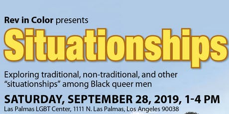 Revolution in Color presents SITUATIONSHIPS! tickets