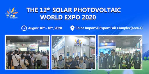 The 12th Solar Photovoltaic World Expo 2020
