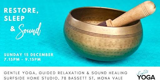 Restore, Sleep & Sound: Christmas