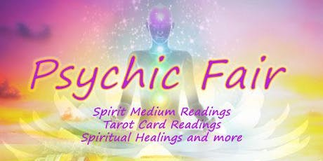 Fall Psychic Fair - Spirit Medium Readings, Tarot Card and Palm Readings, Spiritual Healings tickets