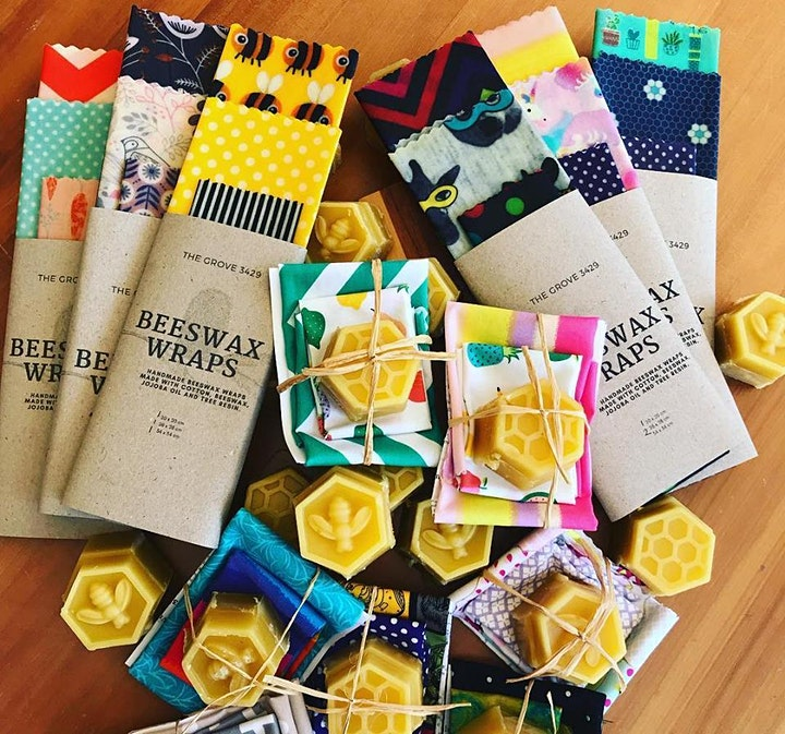 Beeswax wrap making workshop: session one image