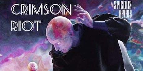 Crimson Riot at Spicolis! tickets