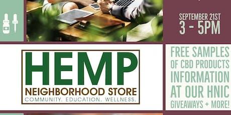 Hemp Neighborhood Store Pop- Up tickets