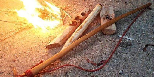 Creating a Fire with Friction