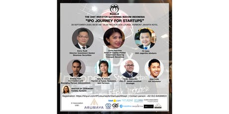 The 31st Investor Gathering Bizcom Indonesia: IPO Journey For Startups tickets