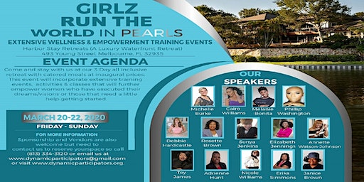 GIRLZ RUN THE WORLD IN PEARLS EMPOWERMENT & WELLNESS RETREAT