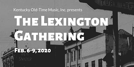 Lexington Old-Time Music Gathering 2020 tickets