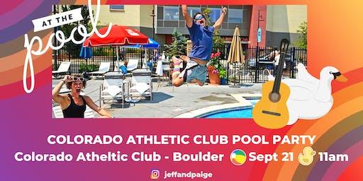 Colorado Athletic Club Pool Party