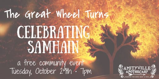 The Great Wheel Turns: Celebrating Samhain