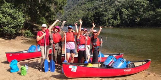 Women's Overnight Canoe Trip: Shoalhaven Gorge // 2nd-3rd November