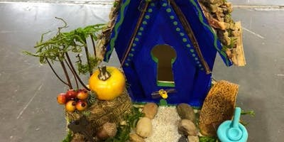 Fall Fairy House and Magical Land
