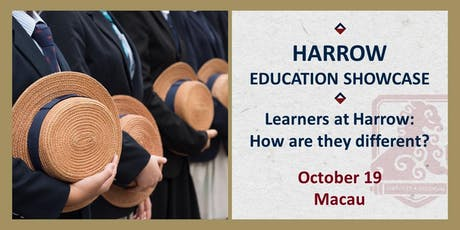 Harrow Education Showcase:  Learners at Harrow – how are they different? tickets