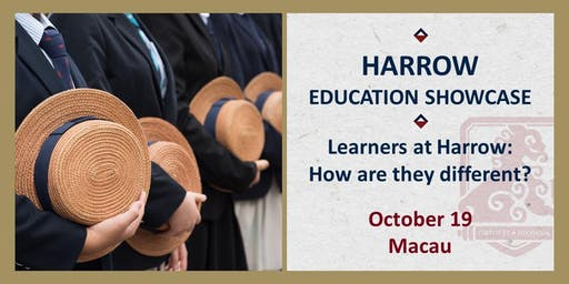 Harrow Education Showcase:  Learners at Harrow – how are they different?