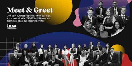 HRSA Meet and Greet tickets