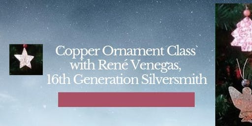 Copper Ornament w/Rene