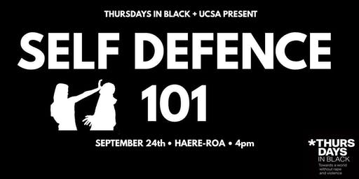 Thursdays in Black + UCSA's Self Defence 101