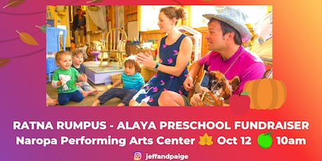Ratna Rumpus - Alaya Preschool Fundraiser tickets