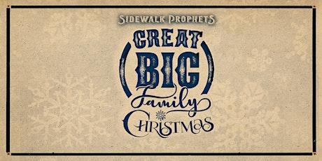 Sidewalk Prophets -Great Big Family Christmas - Monroe, NC tickets