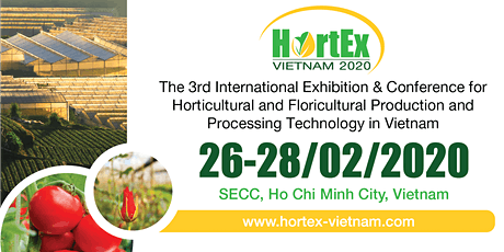 HortEx Vietnam 2020 tickets