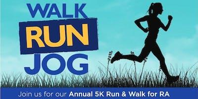 5k Run & Walk for RA