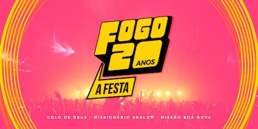 FOGO 20 ANOS