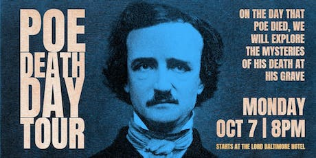 Poe Death Day Ghost Tour tickets