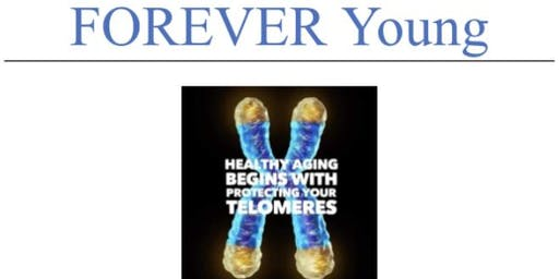 Wellness Wednesday… Forever Young Sip and Sample