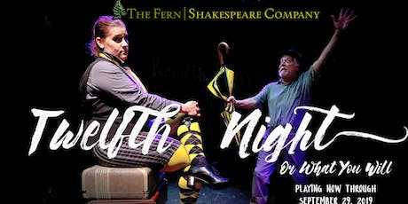 Twelfth Night, or What You Will tickets