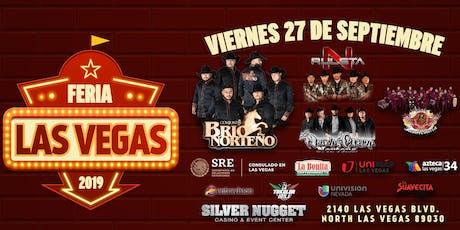 Feria Las Vegas 2019 - Viernes 27 de Septiembre tickets