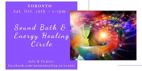 Sound & Energy Healing Workshop  tickets