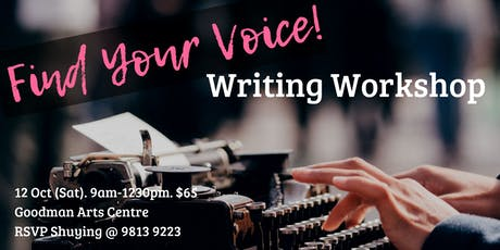 Find Your Voice! Writing Workshop tickets