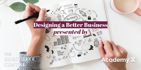 Designing a Better Business tickets