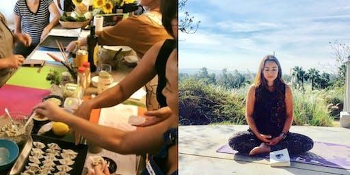Japanese Fermented Living Food Cooking & Eating Meditation Workshop