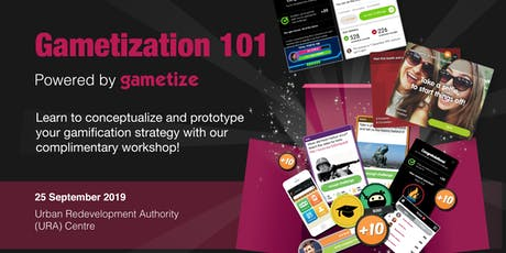 Gametization 101 Workshop, powered by Gametize tickets