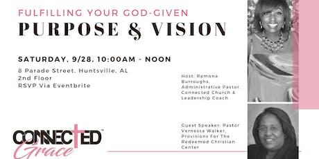 Purpose & Vision tickets