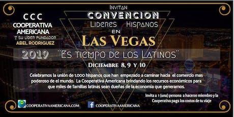 Convención Lideres Hispanos en Las Vegas boletos