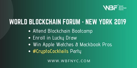 CryptoCocktail Party for WBF Technology Conference · New York 2019 tickets